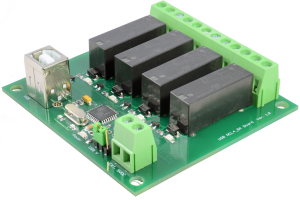 Yamutec 4 Kanal USB Relais Modul - Rückseite