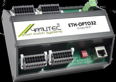 Yamtuec 32 Kanal Ethernet Optokoppler Modul